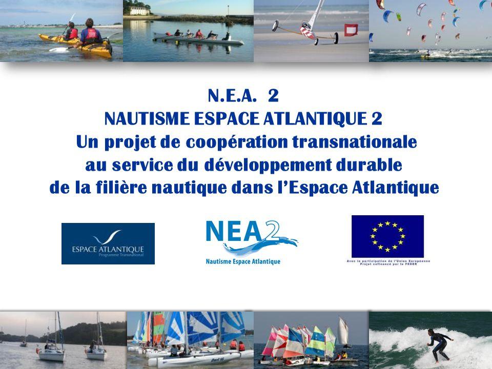 12 Vers lémergence, dun projet nautique pour lEspace Atlantique Un développement durable exemplaire au plan international de la filière nautique dans son ensemble : plaisance, activités encadrées et libres, industrie, commerce et services.