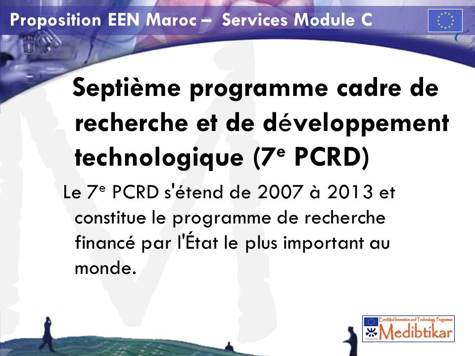 M Proposition EEN Maroc – Services Module C 7 e PCRD