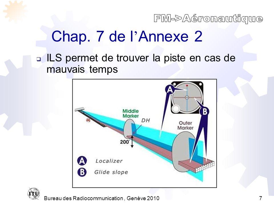 Bureau des Radiocommunication, Genève 20107 Chap.