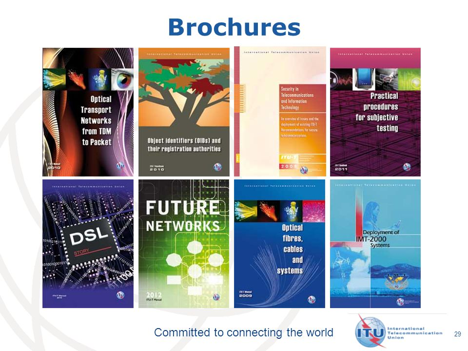 Committed to connecting the world Brochures 29