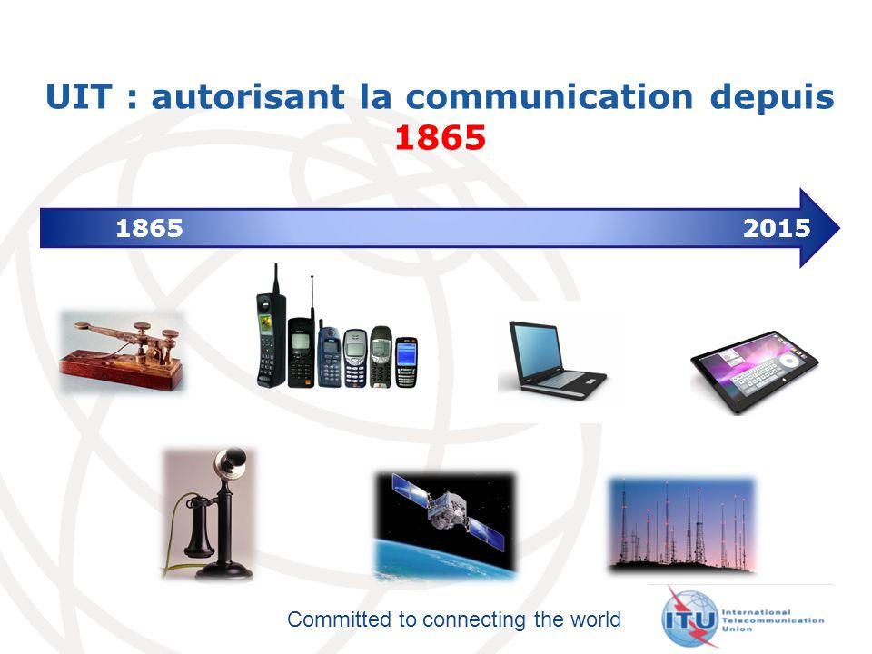 Committed to connecting the world GSS, AMNT, WCIT Assemblée Mondiale sur les Normes de la Télécommunication (AMNT) 20-29 Novembre 2012 34 Conférence Mondiale sur les Télécommunications Internationales (CMTI) 3-14 Décembre 2012 Symposium International sur les Normes (GSS) 19 Novembre 2012