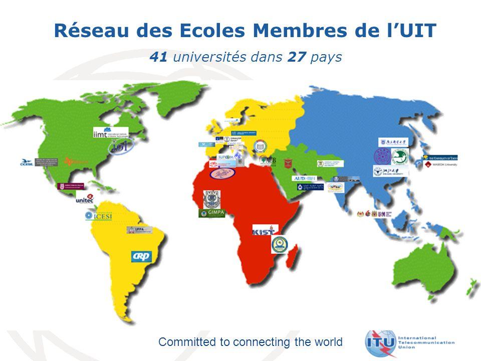 Committed to connecting the world Groupes Focus UIT-T NOUVELLE Télédistribution Numérique.