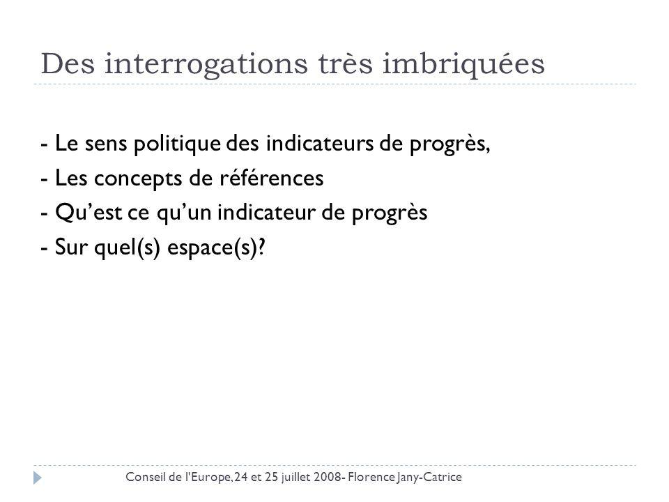 Plan I.Projet de Fair-Plateforme commune II. Quest ce quun indicateur de « progrès » .