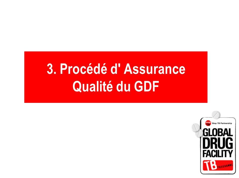 3. Procédé d' Assurance Qualité du GDF