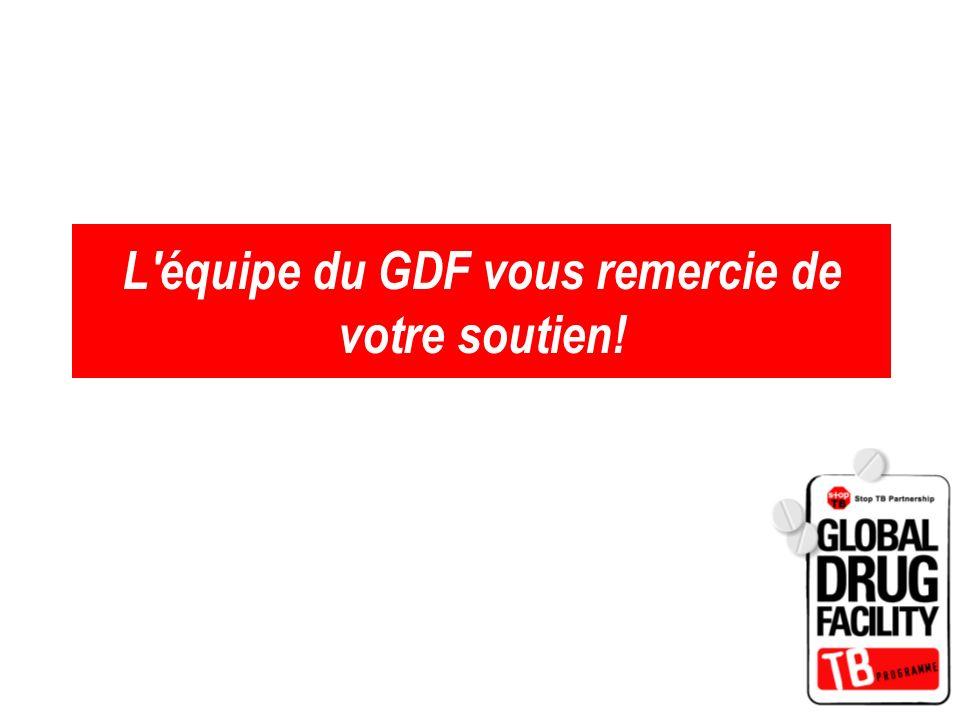 L'équipe du GDF vous remercie de votre soutien!