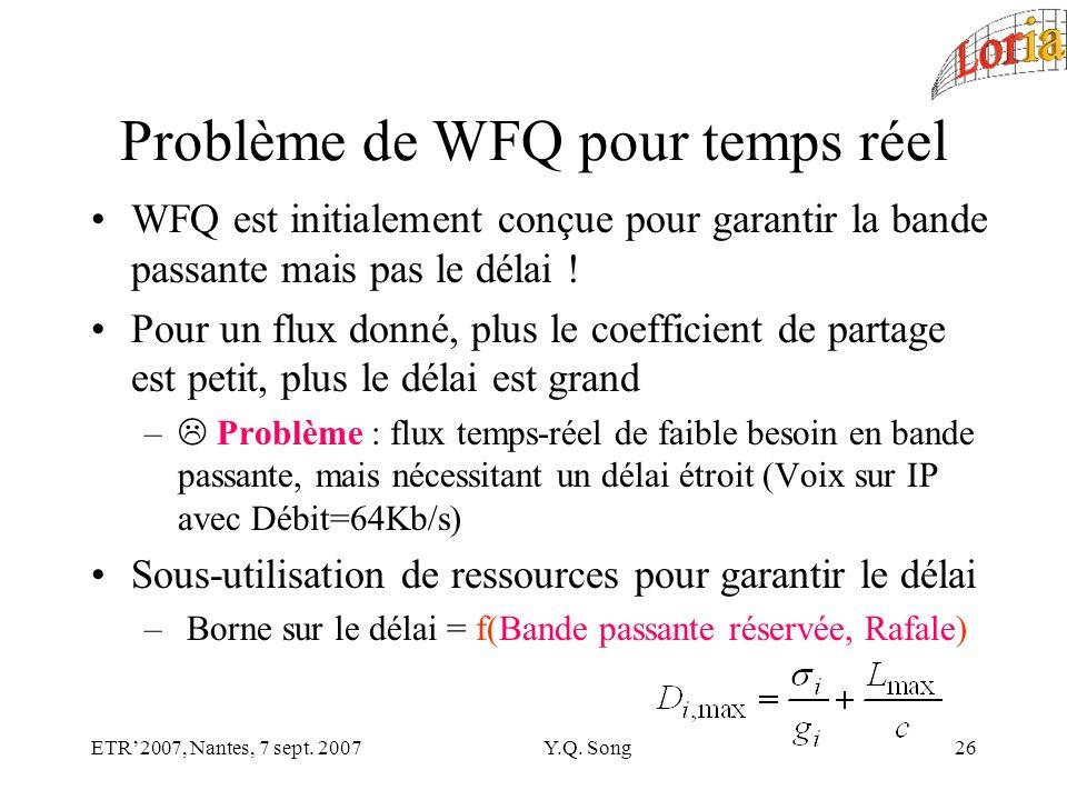 ETR2007, Nantes, 7 sept. 2007Y.Q.