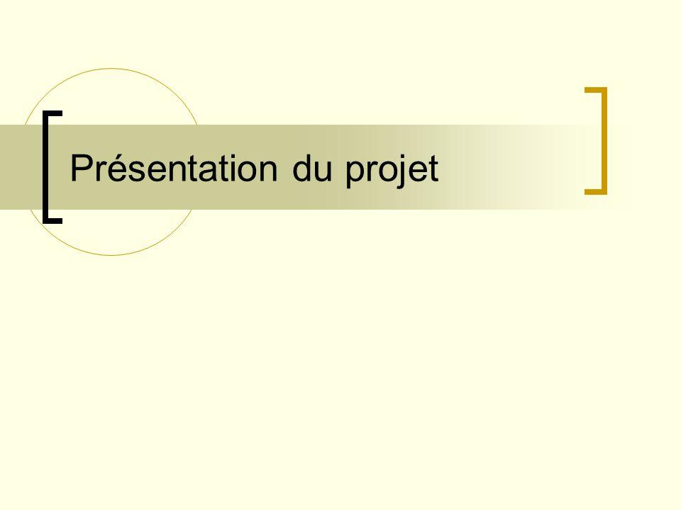 Prototype Organisation du projet Processus Gestion Objectifs et priorités Contraintes Gestion du risque et moyens de contrôle