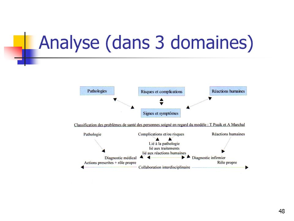 48 Analyse (dans 3 domaines)