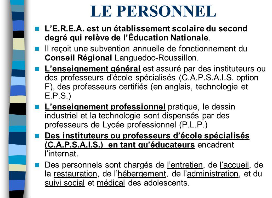 LE PERSONNEL LE.R.E.A.