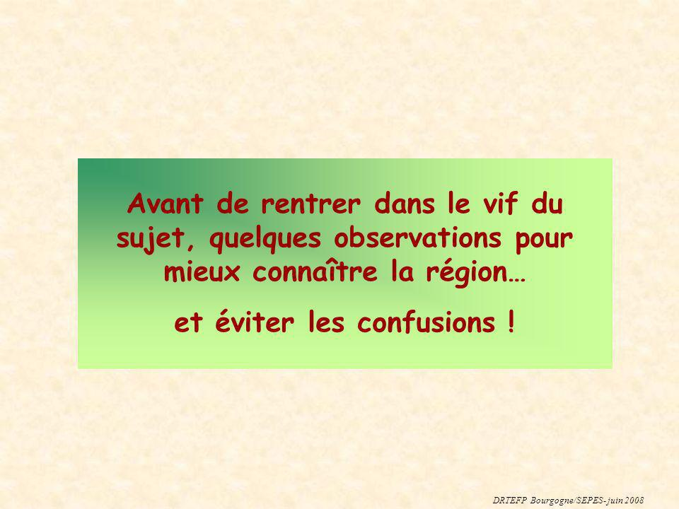 Une concentration pénalisante Source : Rectorat / SSR 2004-2005 Une faible diversité dans la demande féminine (de formation) DRTEFP Bourgogne/SEPES- Juin 2008