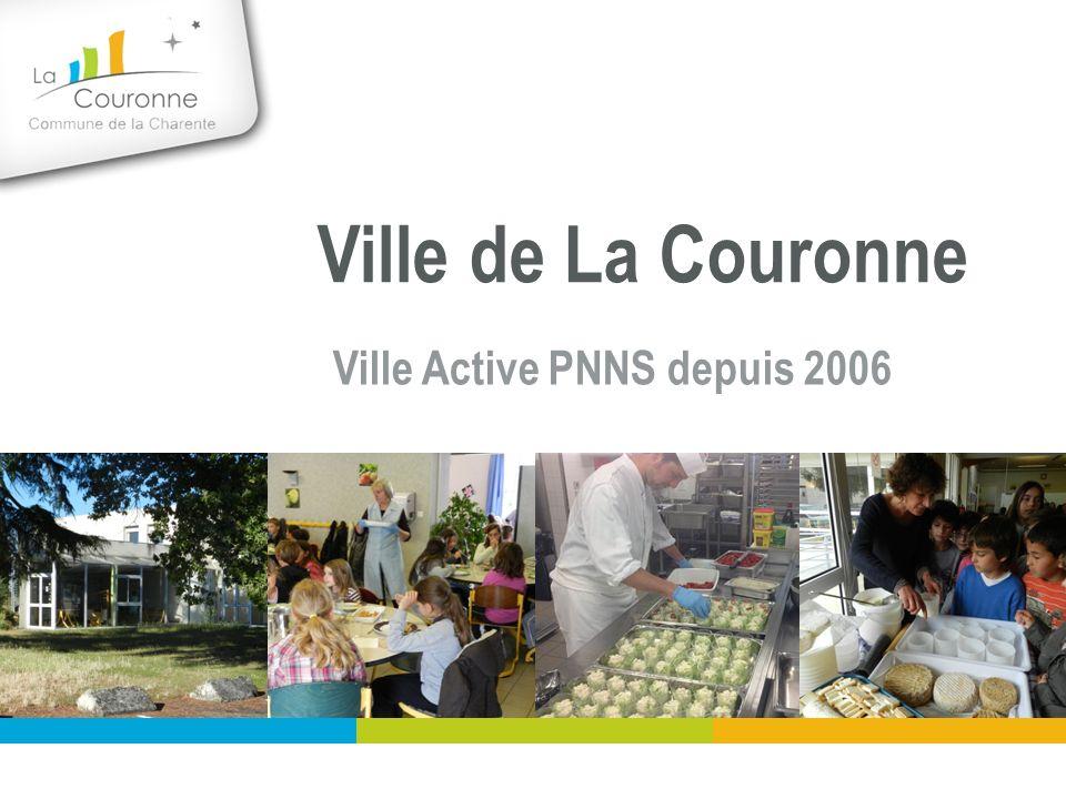 Ville de La Couronne Ville Active PNNS depuis 2006