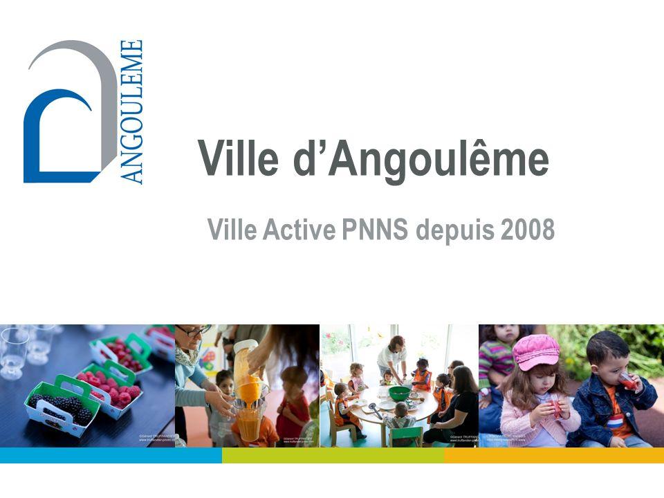Villes actives PNNS de la Charente Ville dAngoulême Ville Active PNNS depuis 2008