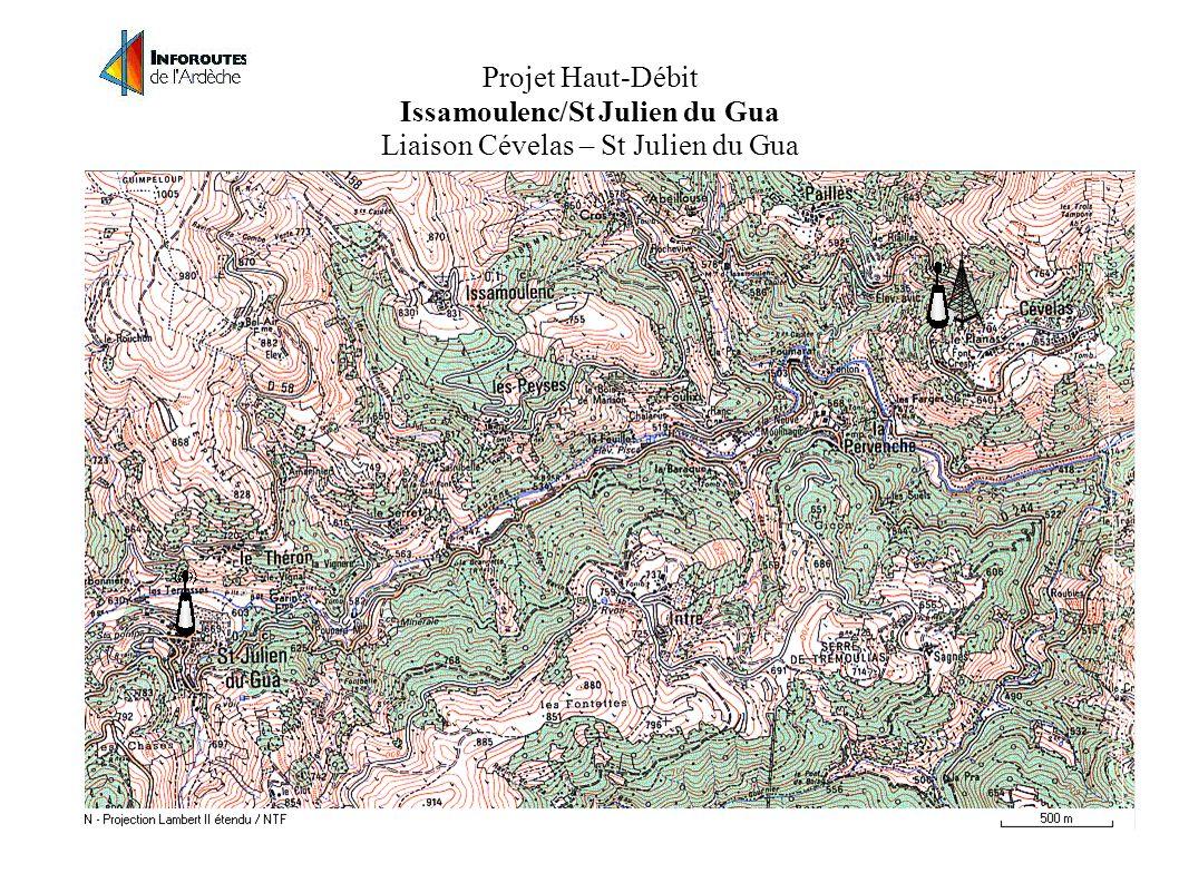 Projet Haut-Débit Issamoulenc/St Julien du Gua Point Haut-débit et diffusion sur Issamoulenc