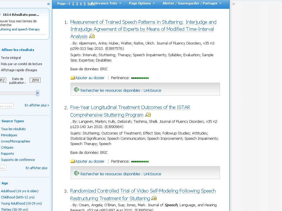 http://www.ncbi.nlm.nih.gov/pubmed/ Accès LIBRE Articles médicaux – anglais