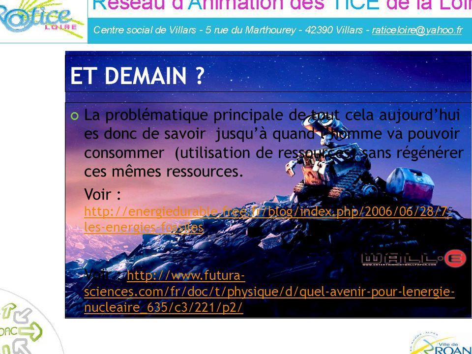 Réalisé par : Franck Guigues – Animateur à la médiahèque de Roanne La problématique principale de tout cela aujourdhui es donc de savoir jusquà quand