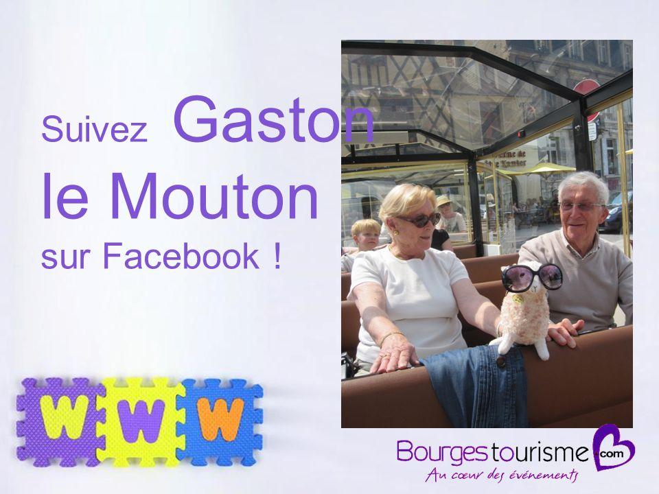 Page 17 Suivez Gaston le Mouton sur Facebook !