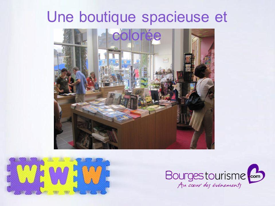 Page 33 Une boutique spacieuse et colorée