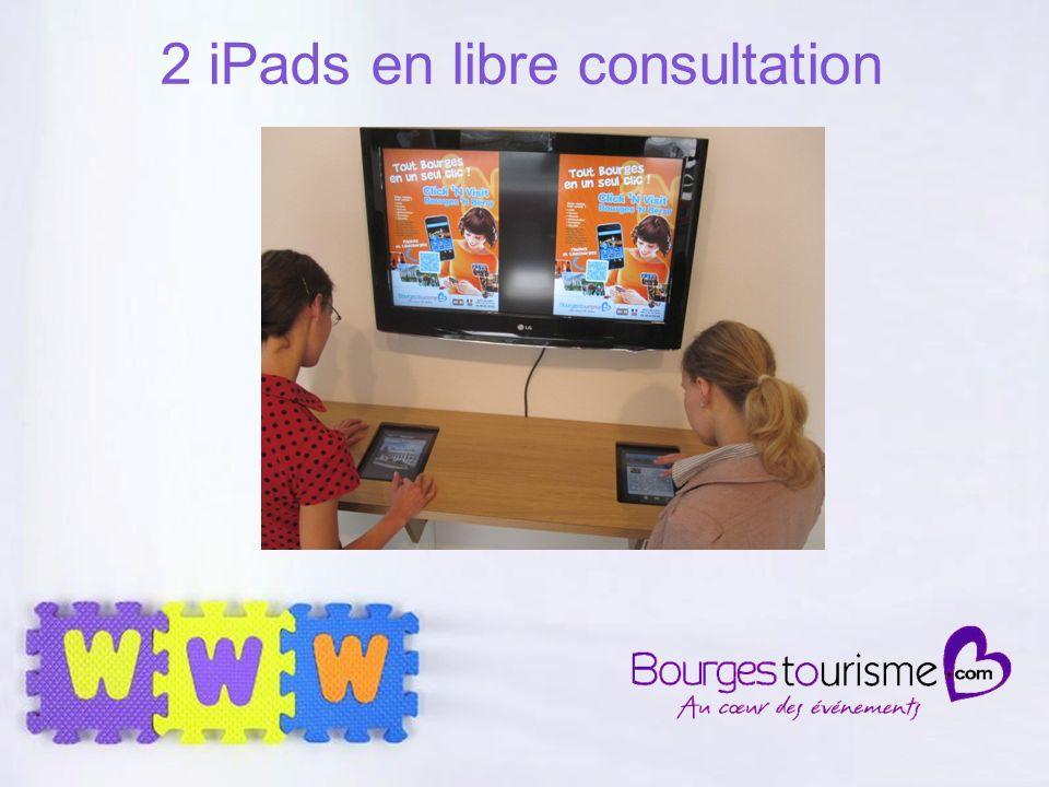 Page 37 2 iPads en libre consultation