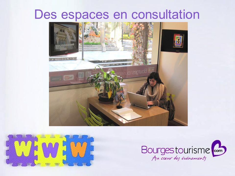 Page 39 Des espaces en consultation