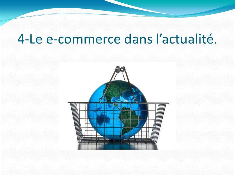 4-Le e-commerce dans lactualité.