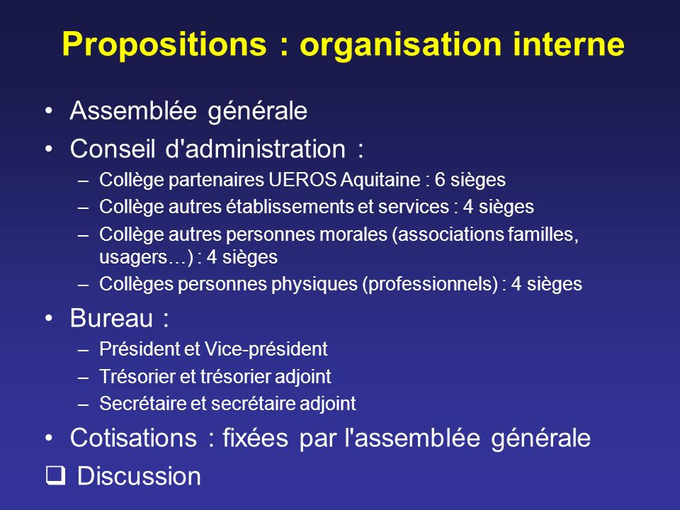 Questions Quels objectifs prioritaires .TC ou plus largement cérébrolésés .