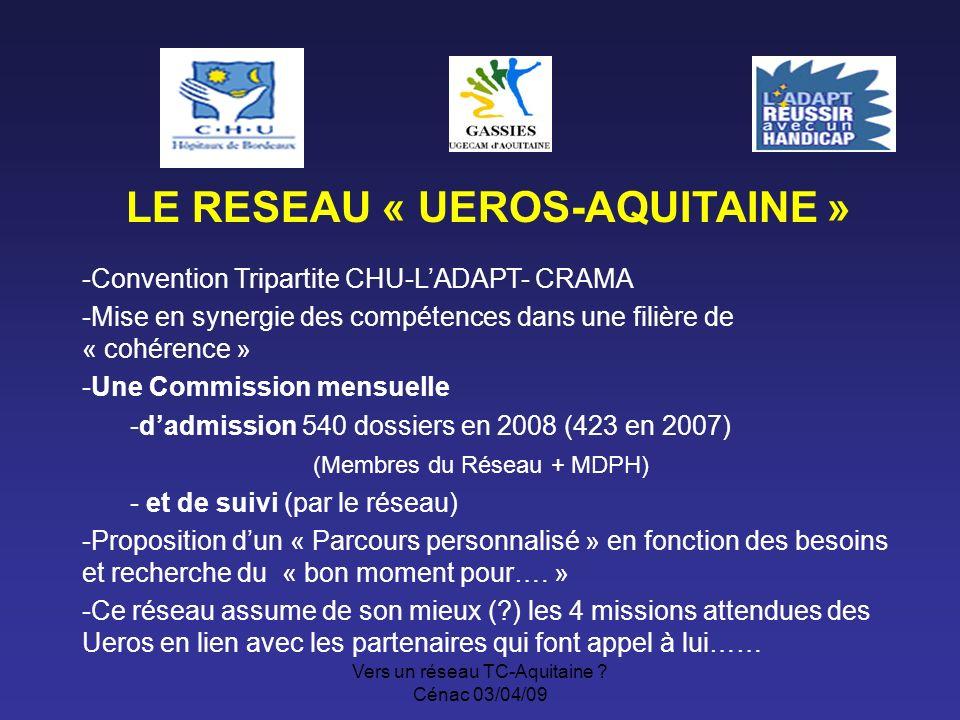 Vers un réseau TC-Aquitaine .