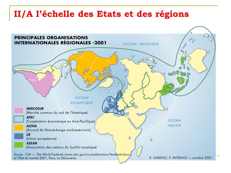 II/A léchelle des Etats et des régions