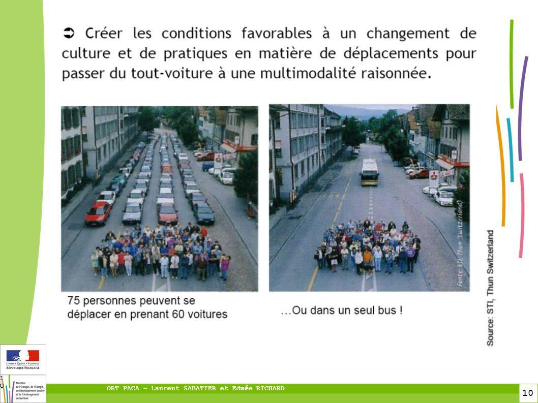 10 ORT PACA – Laurent SABATIER et Edm é e RICHARD 10 PTU Hors PTU