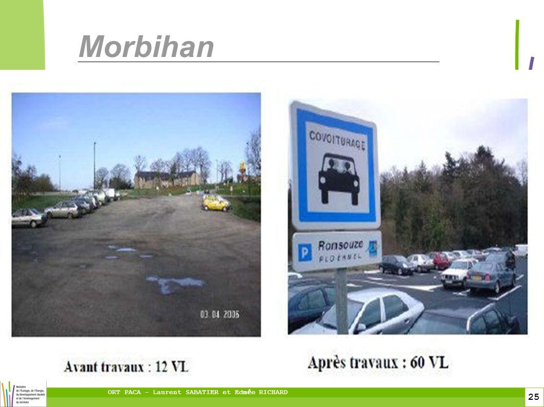 25 ORT PACA – Laurent SABATIER et Edm é e RICHARD Morbihan