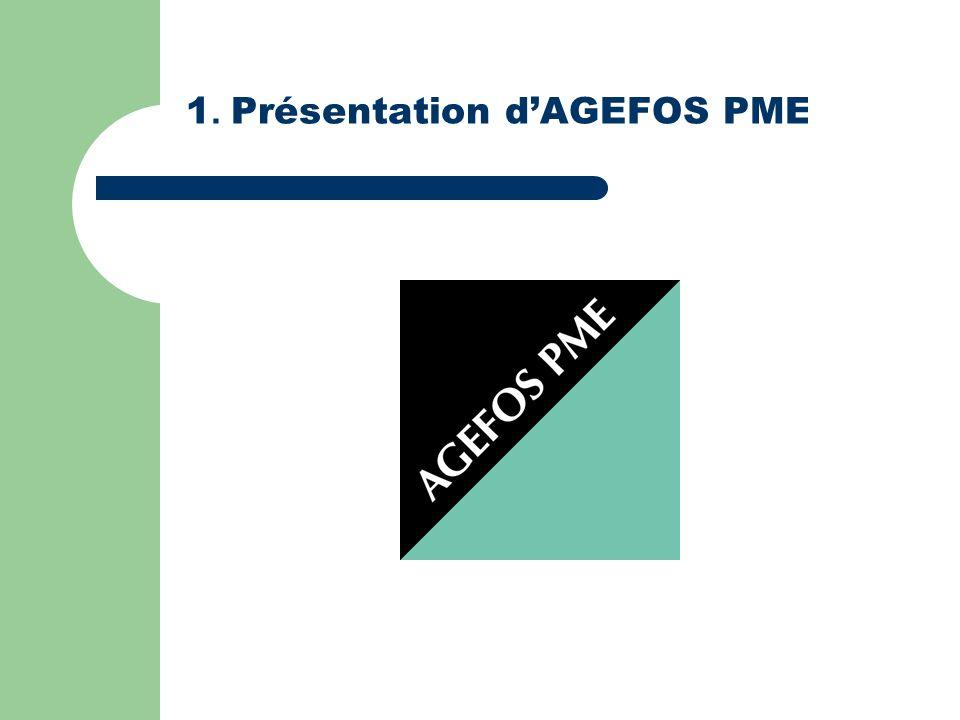 1. Présentation dAGEFOS PME