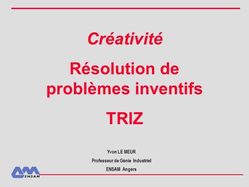 Idées Peuvent être abstraites, floues, partielles, sans recherche de faisabilité ressources pour des concepts Concepts cohérents.