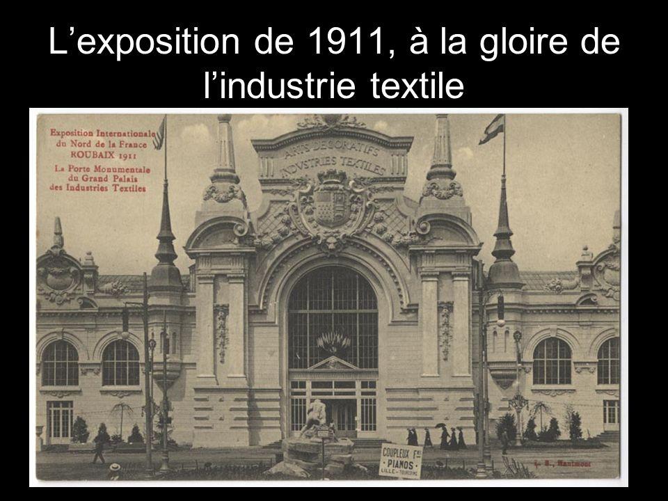 Lexposition de 1911, à la gloire de lindustrie textile