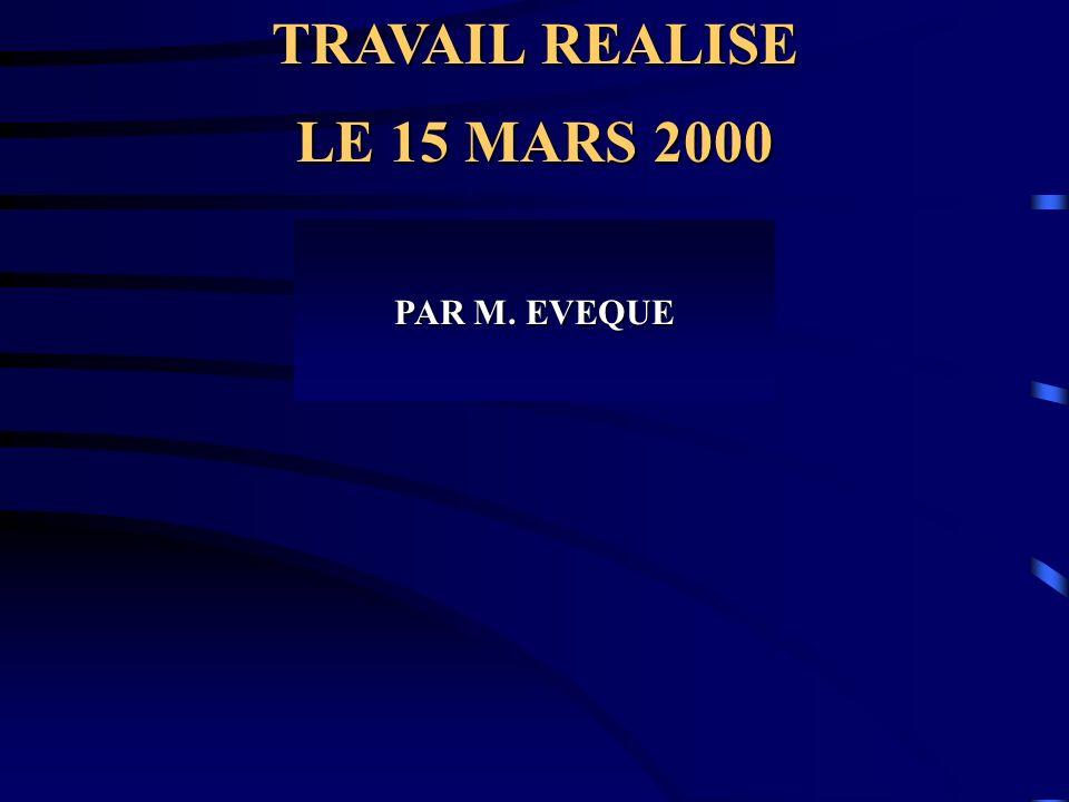 TRAVAIL REALISE PROFESSEUR S.T.T LYCEE Thierry MAULNIER ACADEMIE DE NICE PAR M.