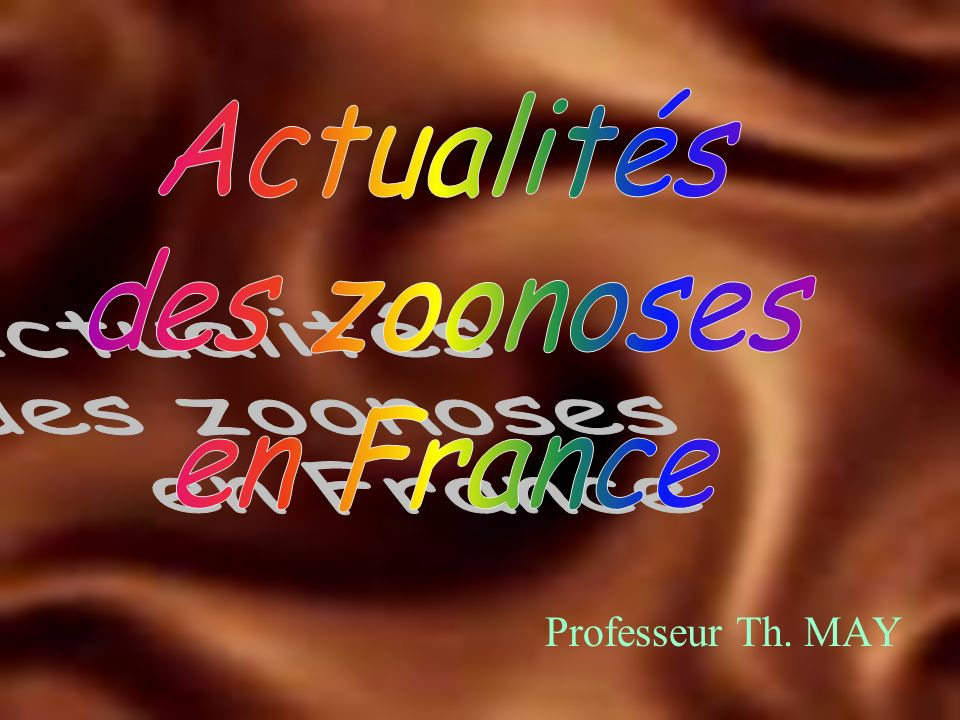 Professeur Th. MAY