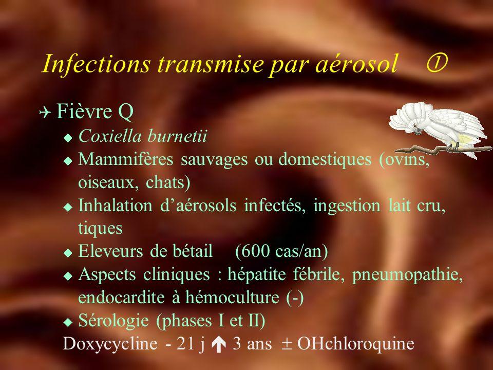 Zoonoses d'origine alimentaire Q Echinococcose alvéolaire u E. multilocularis u Ténia du renard u Pathologie régionale u Tentative de traitement médic