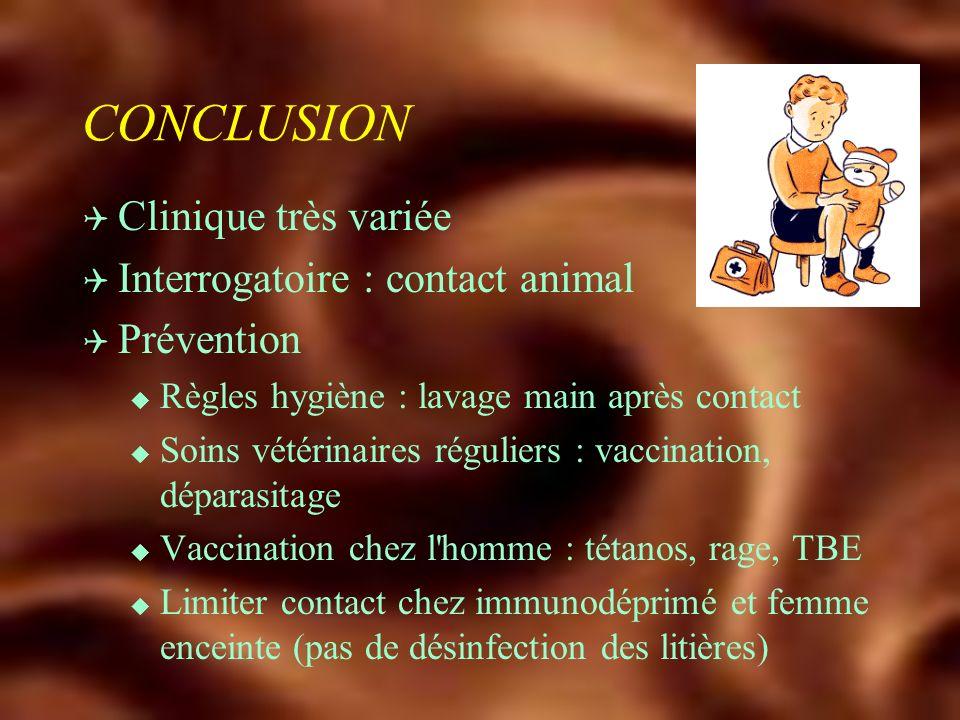 Q Leishmaniose viscérale (Kala-Azar) u phlébotome dans le Sud de la France Glucantime®, Ambisome® - 21 j Infections transmises par les arthropodes