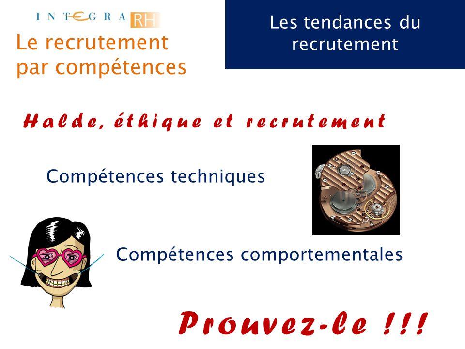 Les tendances du recrutement Bon à savoir: Un recruteur met en moyenne 30 à 50 secondes pour lire un cv Objectif du CV : « Donner envie au recruteur de me rencontrer !!.