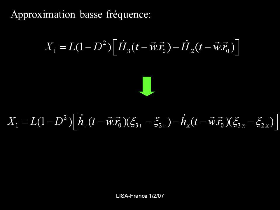LISA-France 1/2/07 Source binaire