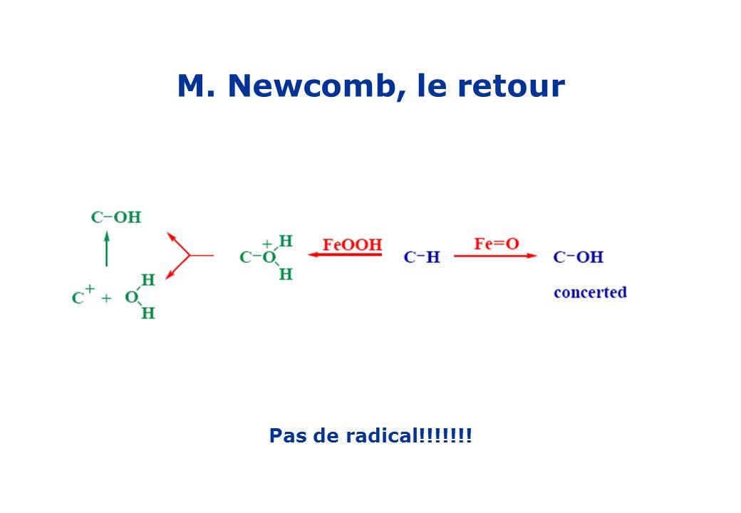 M. Newcomb, le retour Pas de radical!!!!!!!