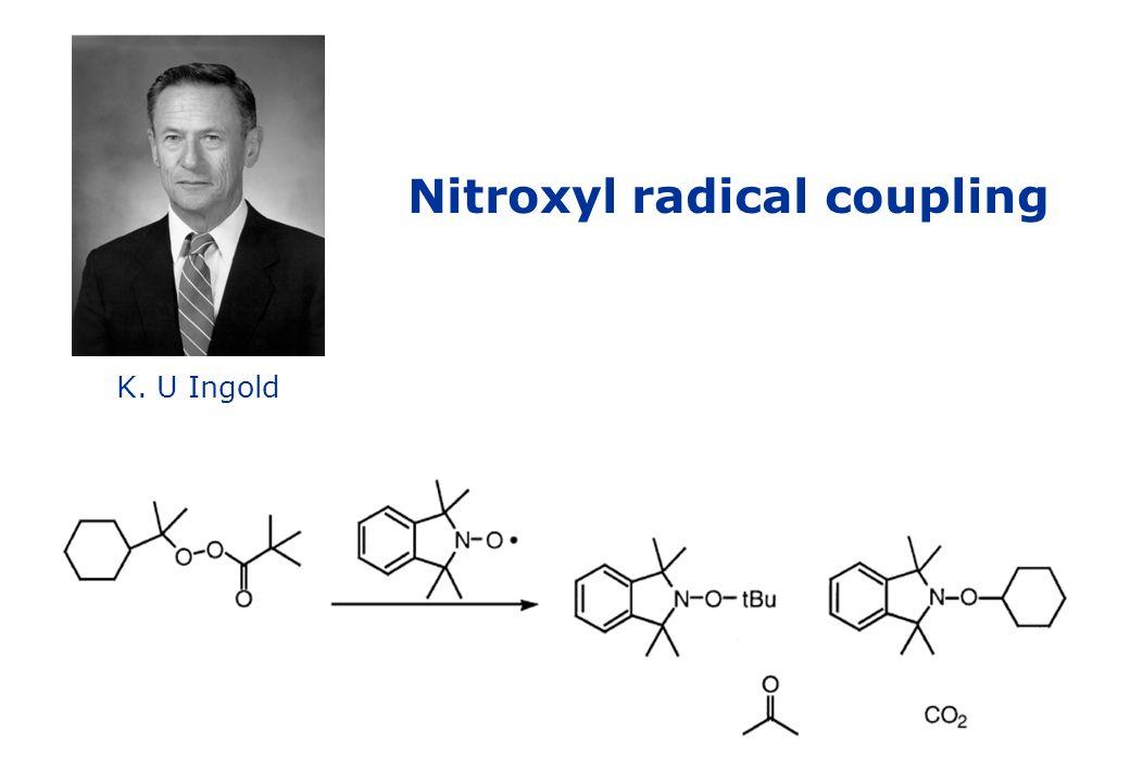Nitroxyl radical coupling K. U Ingold