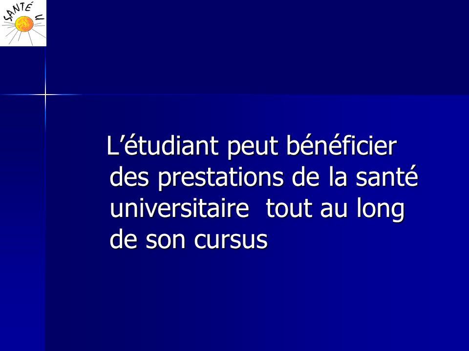 Activités développées (4/6) - Vaccinations (obligatoires et recommandées): conseils et mise à jour - Accueil des étudiants présentant un handicap, accompagnement, visites médicales dans le cadre de l aménagement des conditions détudes et dexamens (http://handiuniv.u-nancy.fr) (http://handiuniv.u-nancy.fr)http://handiuniv.u-nancy.fr