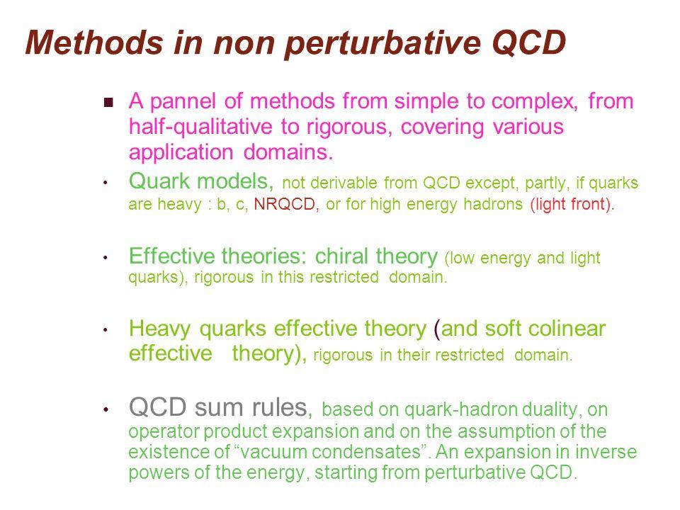 Fabuleuse puissance de calcul nécessaire Considérons la production dun échantillon Monte-Carlo nécessaire dans le cas où nous considérons dans le vide des fluctuations de deux quarks légers (u et d) de même masse et deux quarks lourds (s et c) de masses différentes, proches des masses physiques Pour fixer les idées, estimons le temps de calcul nécessaire pour produire, pour une maille typique, un échantillon de 5000 configurations pour 5 valeurs de la masse des quarks légers.