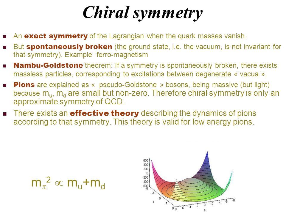 Restauration de la symmétrie chirale Karsch lat07