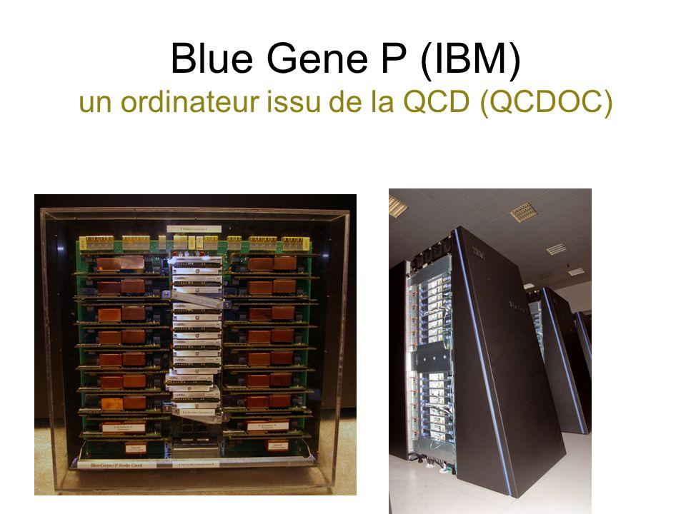 Blue Gene P (IBM) un ordinateur issu de la QCD (QCDOC)