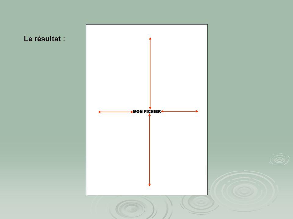 Centrer le titre dans la page verticalement : ouvrir le menu Fichier mise en page… choisir loption disposition puis alignement vertical : centré ouvri