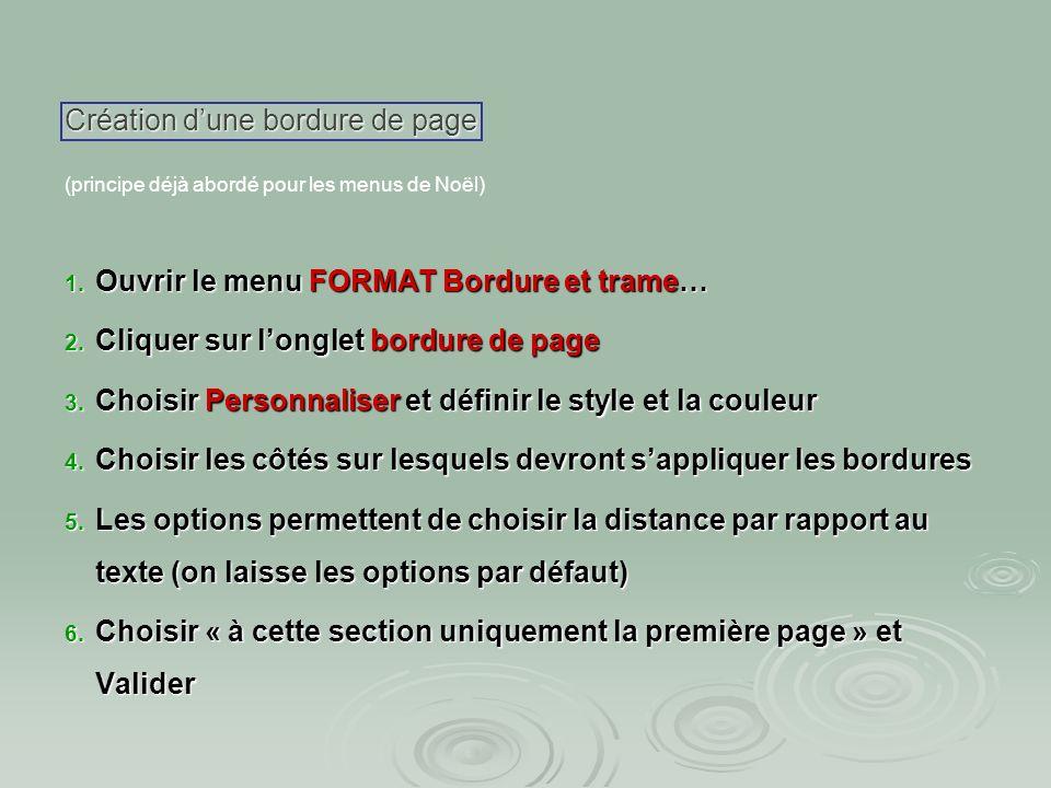 Ajouter une animation : Ajouter une animation : Dans le menu FORMAT police choisir longlet animation animation