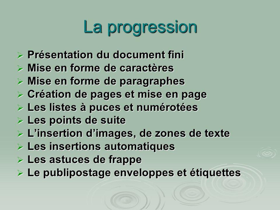 Atelier N°3 : La mise en page Exercice :importer le fichier « ATELIER 3 » depuis le site R.DESFARGE…..