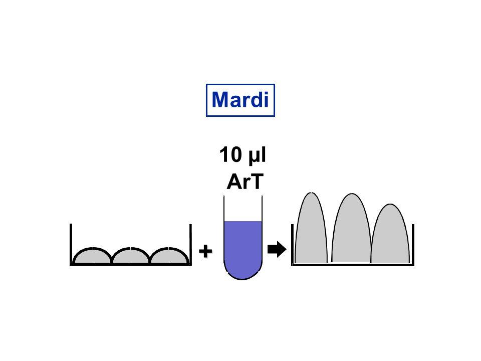 Mardi + 10 µl ArT