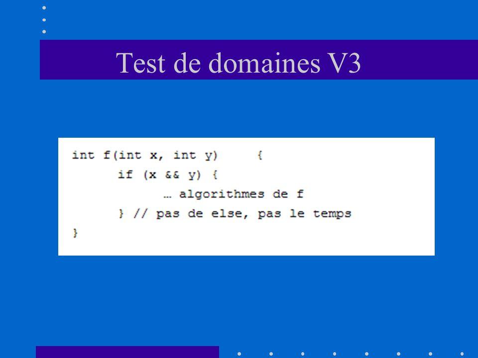 Test de domaines V3