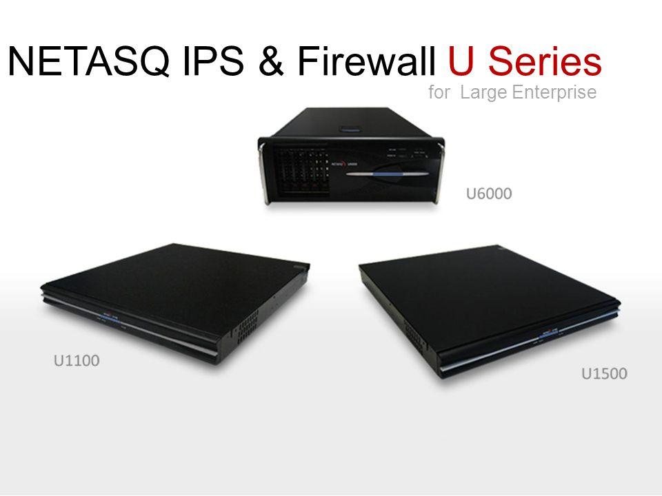 NETASQ Confidentiel 25 NETASQ U70 600 Mbps 100 000 120 Mbps 6 x gigabit Débit FW+IPS: Sessions simultanées : VPN IPSEC (ASIC) : Interfaces :